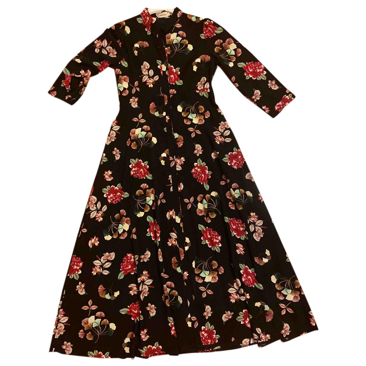 Teria Yabar N Black Silk dress for Women 1 US