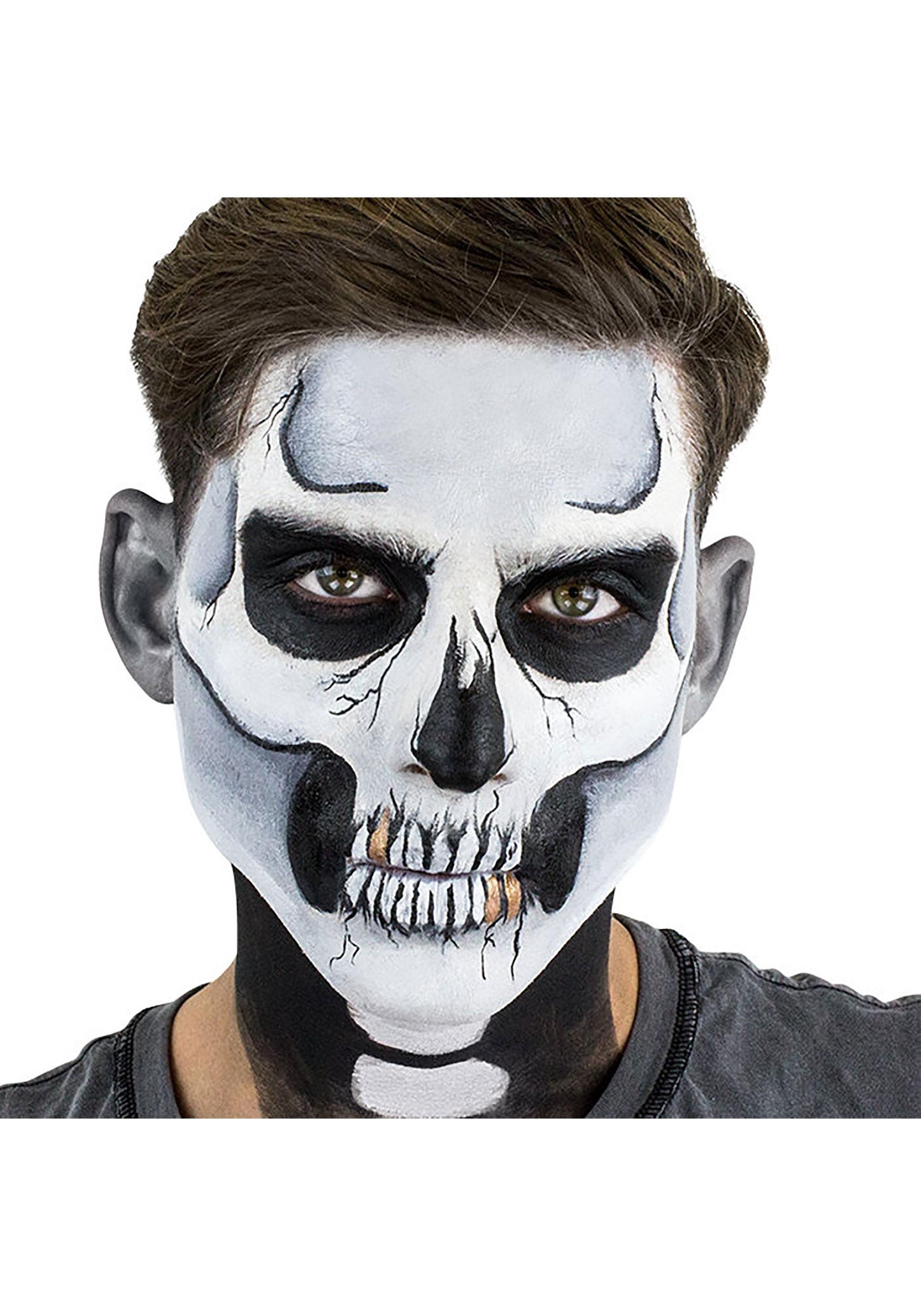 Skeleton Makeup and Stencil Kit