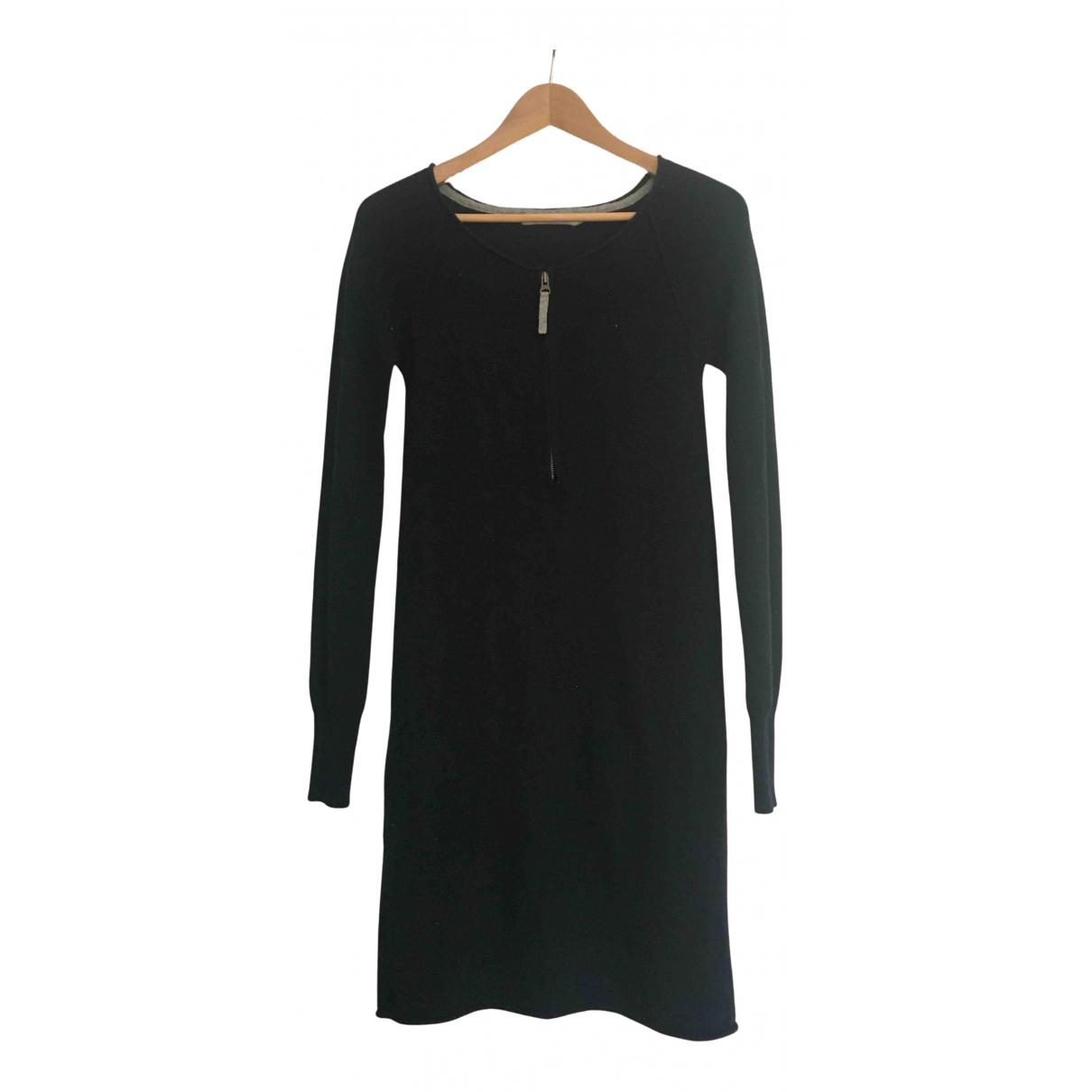 Berenice \N Kleid in  Blau Kaschmir