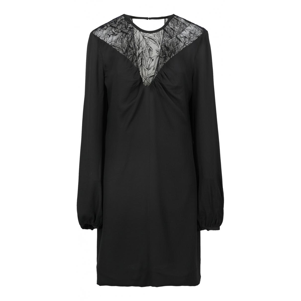 Roberto Cavalli \N Kleid in  Schwarz Baumwolle