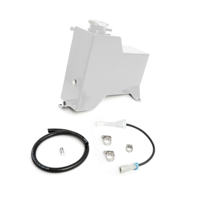 2015-2016 Chevrolet / GMC Factory Replacement Coolant Tank White HSP Diesel 527-2-HSP-W