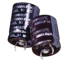 Nippon Chemi-Con 4700μF Electrolytic Capacitor 100V dc, Snap-In - EKMH101VSN472MA50S (50)
