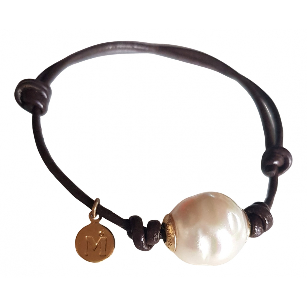 Autre Marque \N Armband in  Weiss Perle