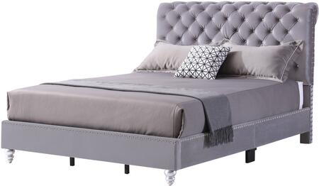 Maxx Collection G1940-FB-UP Full Size Bed with Deep Tufted with