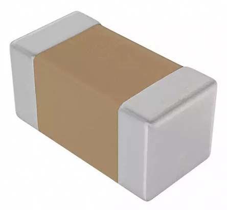 KEMET 0402 (1005M) 1nF Multilayer Ceramic Capacitor MLCC 50V dc ±5% SMD C0402C102J5RACTU (10000)