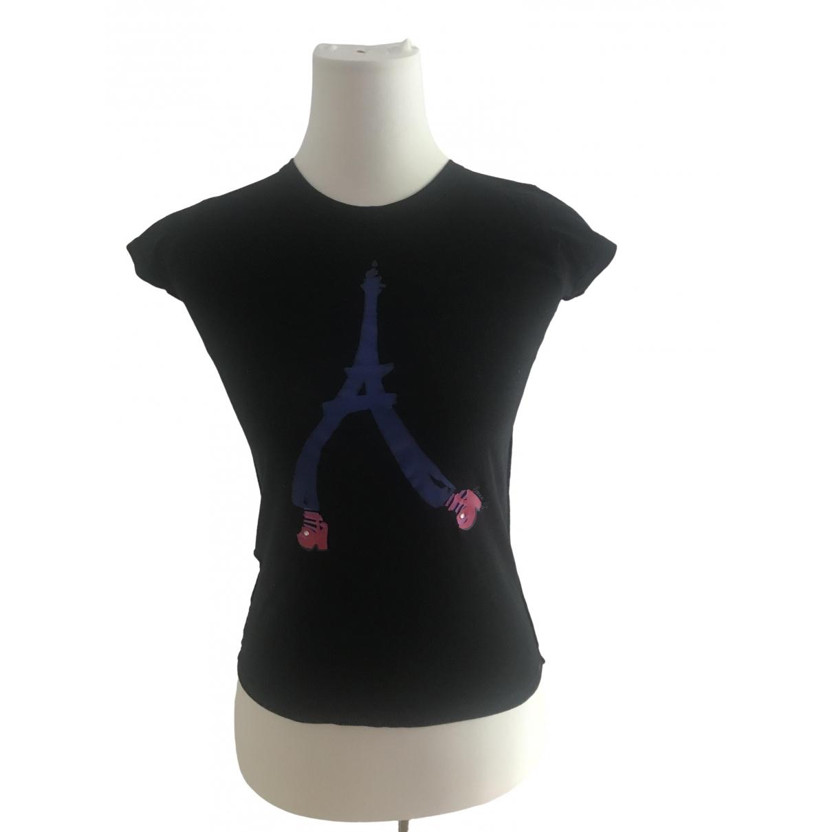 Sonia Rykiel - Top   pour enfant en coton - noir