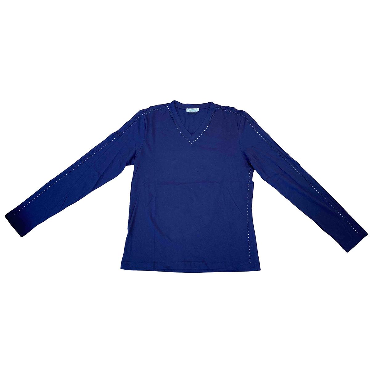 Versace \N Blue Cotton T-shirts for Men M International