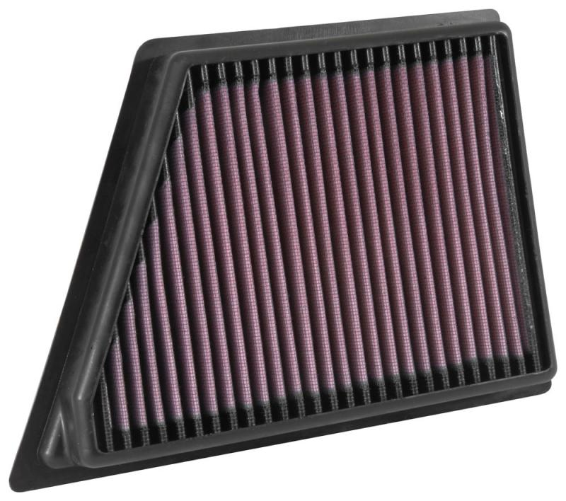 K&N 33-5054 Replacement Air Filter Cadillac CT6 2016-2019 3.0L V6