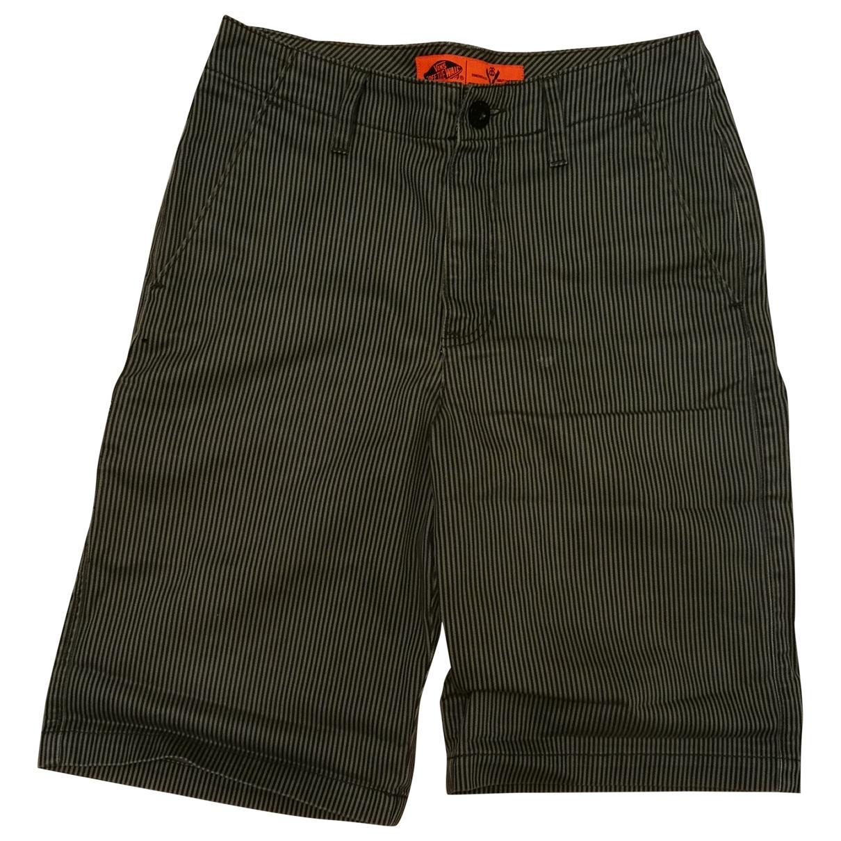 Vans \N Shorts in  Schwarz Baumwolle