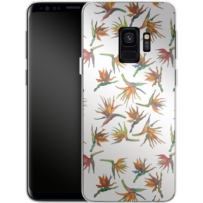 Samsung Galaxy S9 Silikon Handyhuelle - Paradise Flower Pattern von Kaitlyn Parker