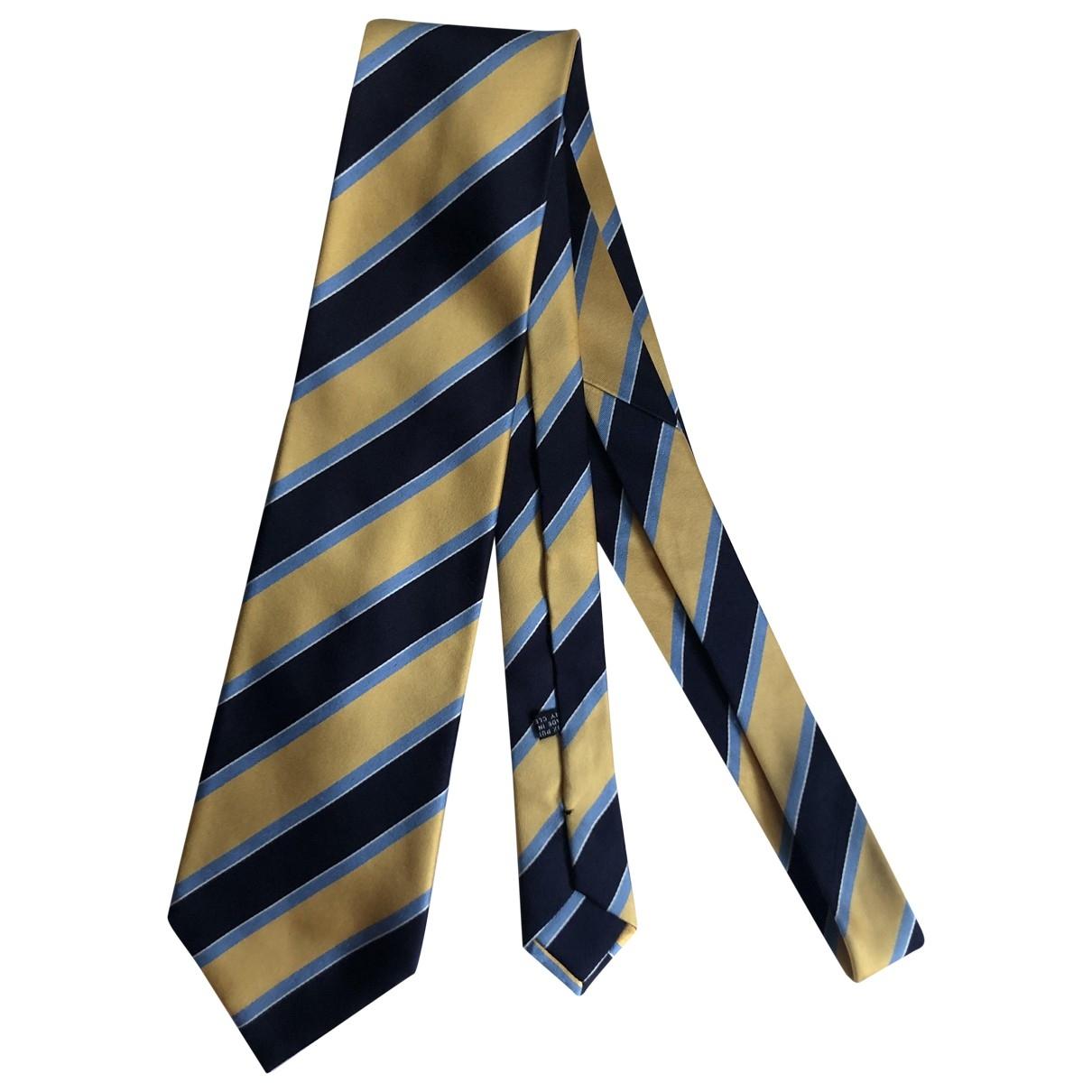 Stefano Ricci - Cravates   pour homme en soie - jaune