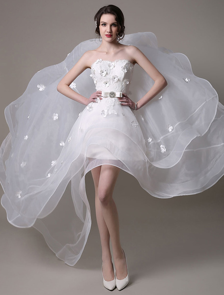 Milanoo Vintage Mermaid Lace Wedding Dress With Court Train
