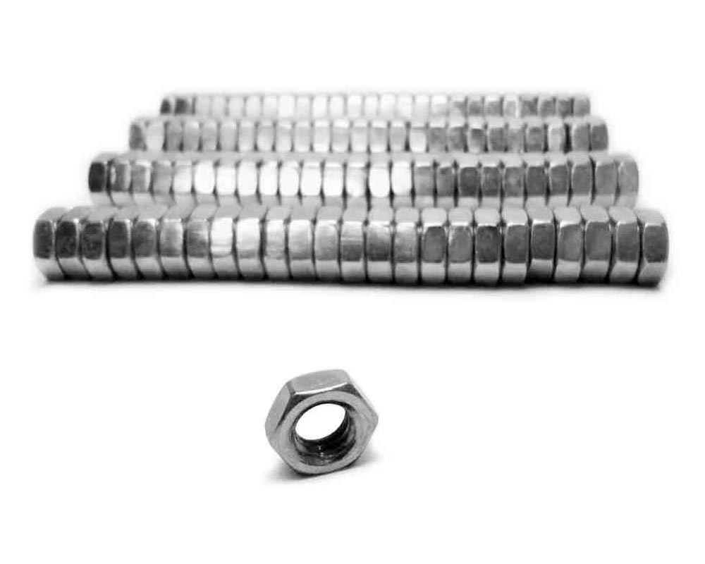 Steinjager J0014347 Nuts Bulk Jam Fasteners, Bulk 5/16-24 LH 100 Pack Grade 2 Plated Zinc Silver