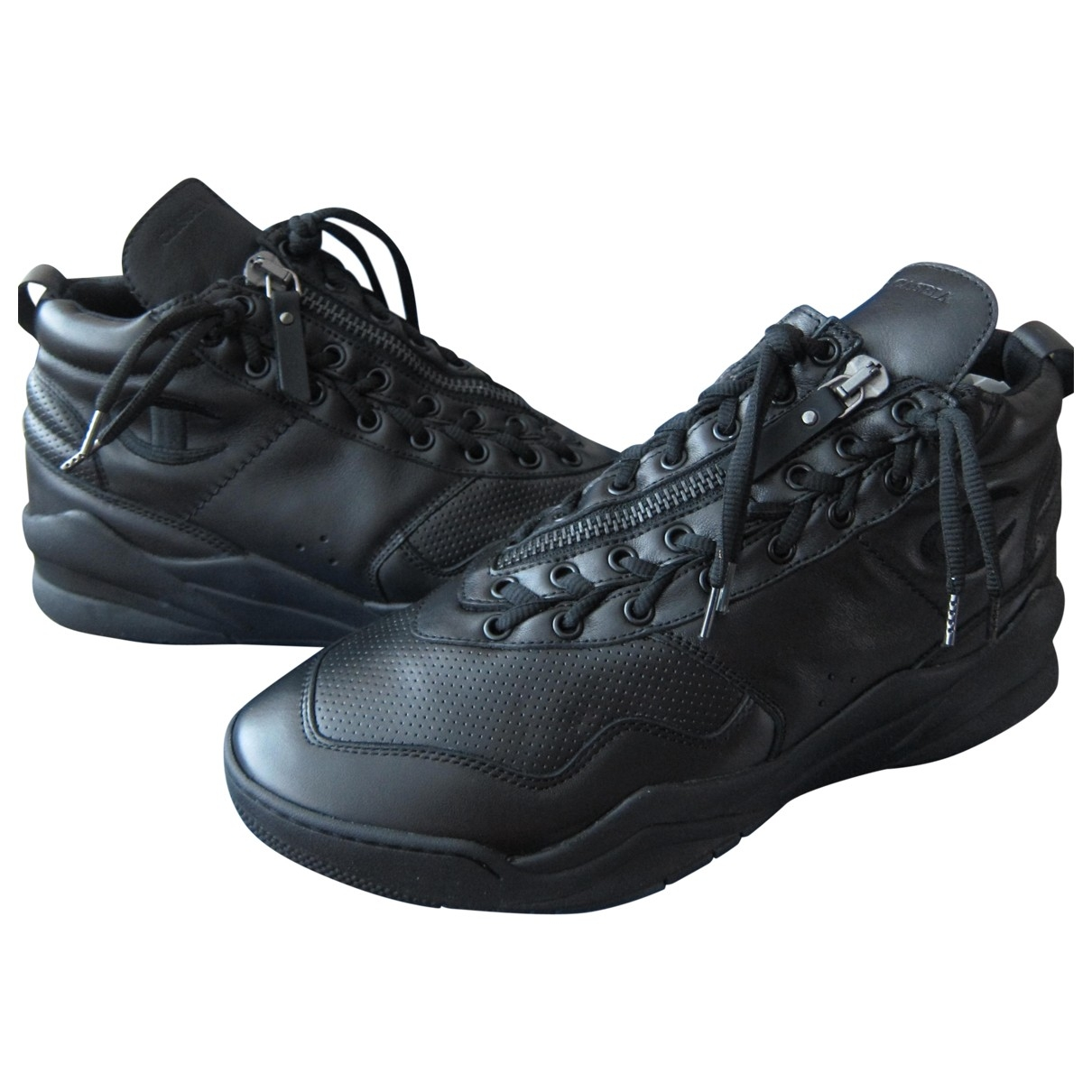 Champion \N Black Leather Trainers for Men 45 EU
