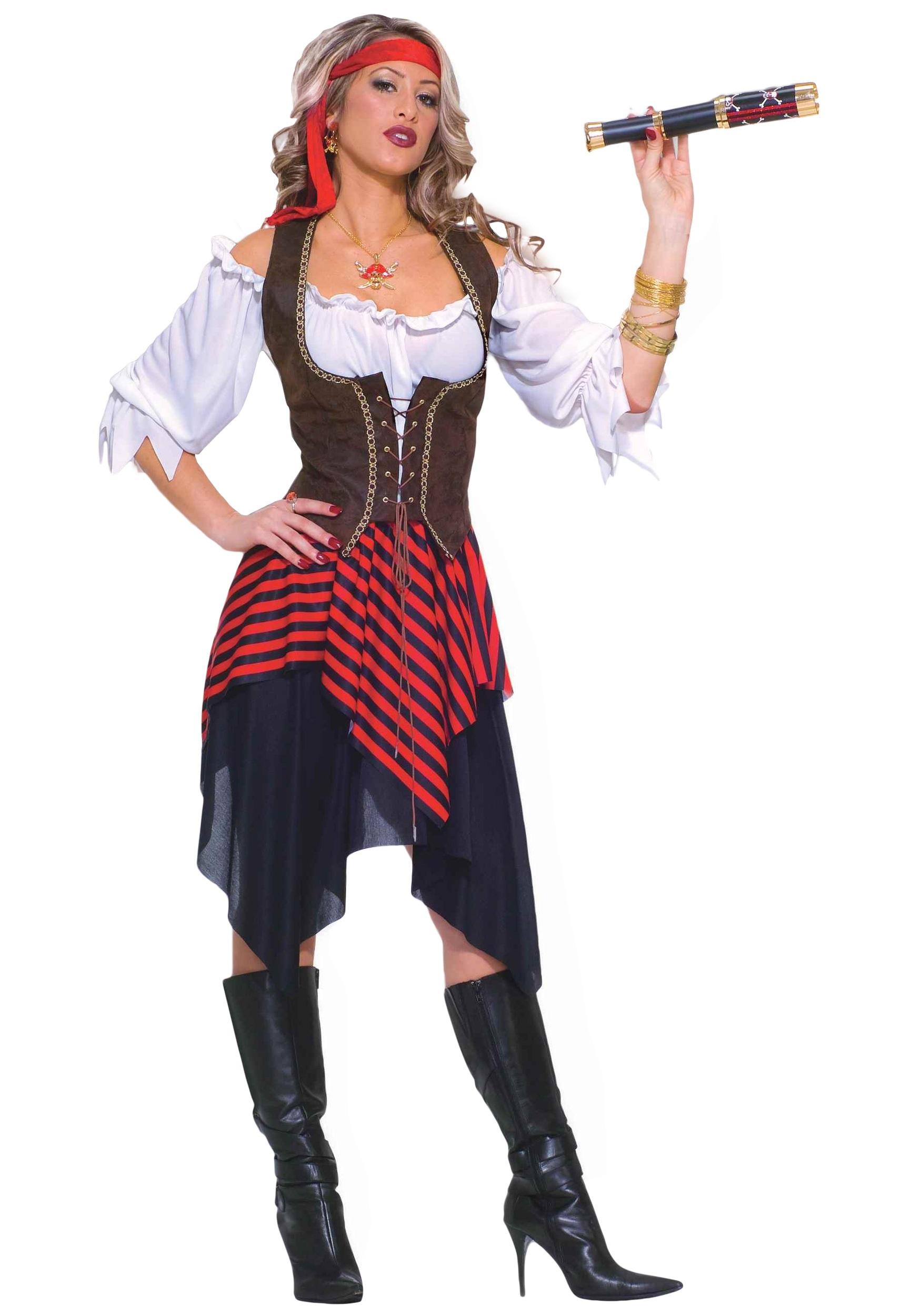 Sweet Buccaneer Women's Costume