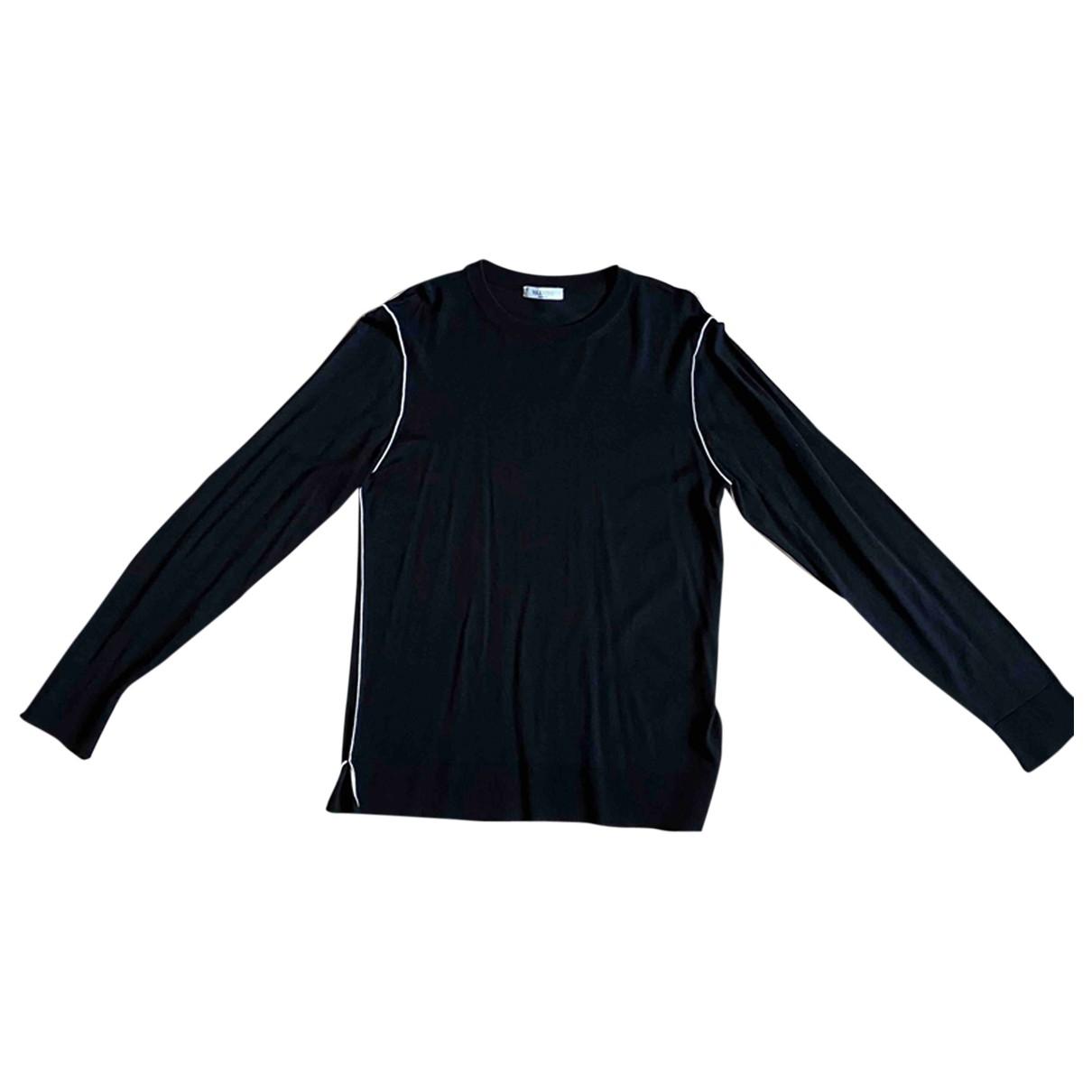 Valentino Garavani \N Pullover.Westen.Sweatshirts  in  Schwarz Wolle