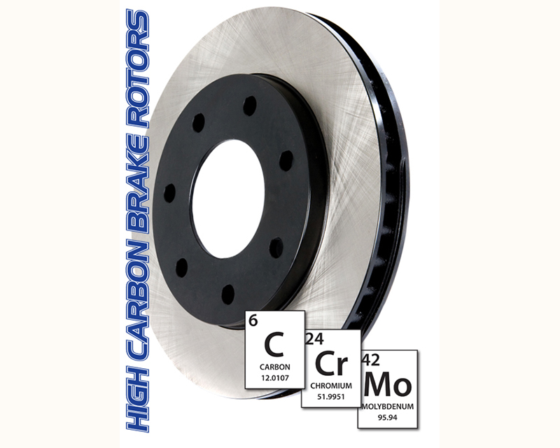 Centric Premium High Carbon Alloy Rotor Rear Mercedes-Benz ML-Class 2000