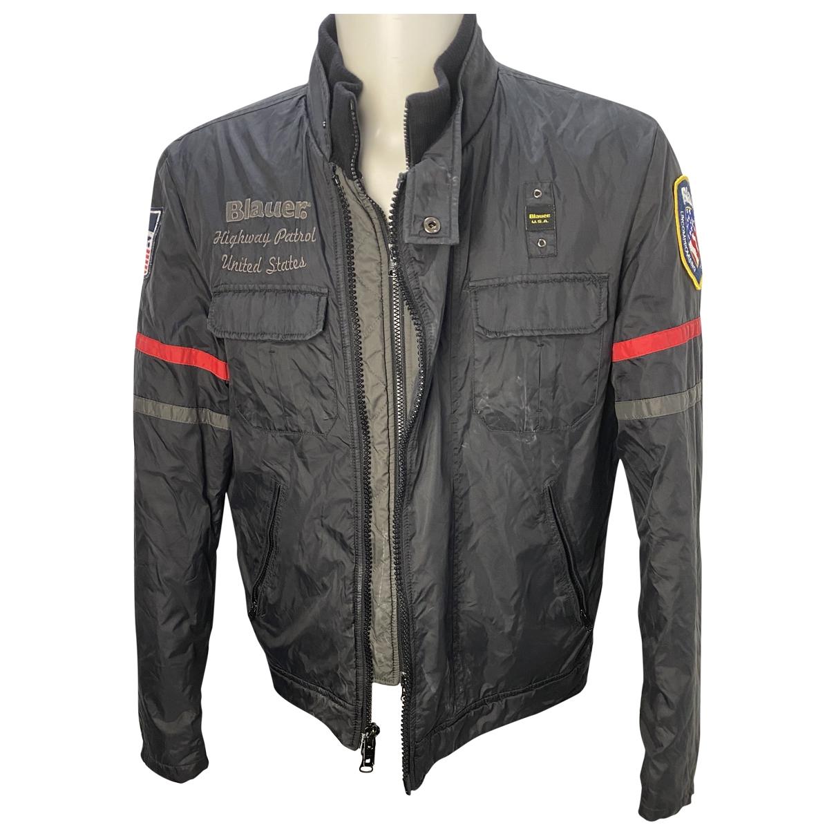 Blauer \N Blue jacket  for Men XL International