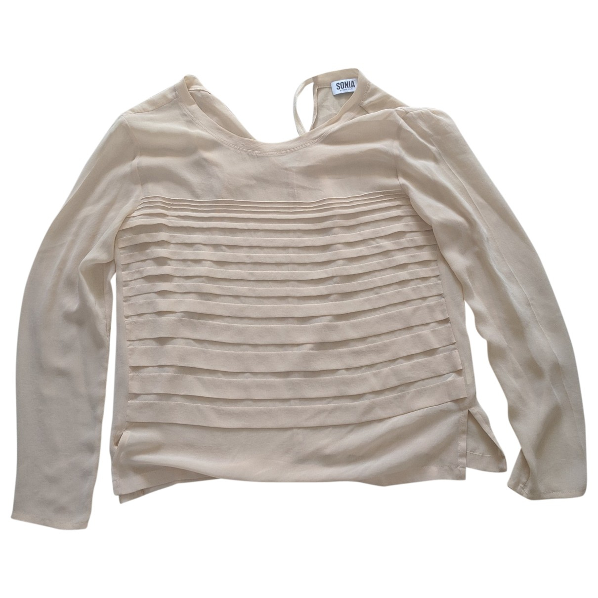 Sonia By Sonia Rykiel \N Top in  Beige Polyester