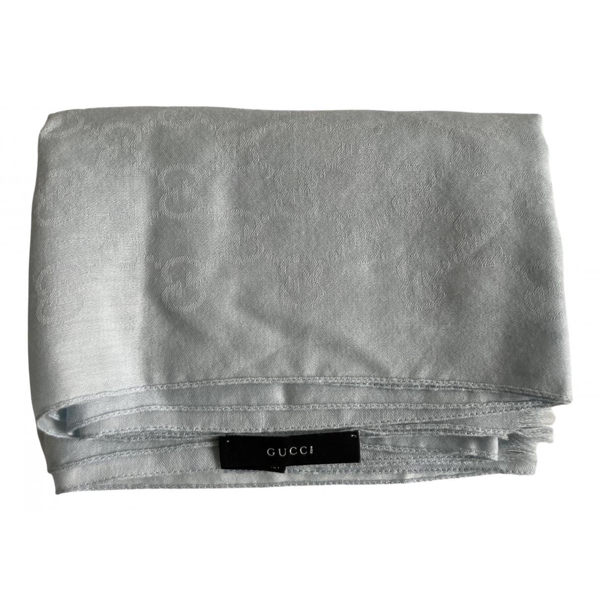 Gucci N Blue Wool scarf for Women N