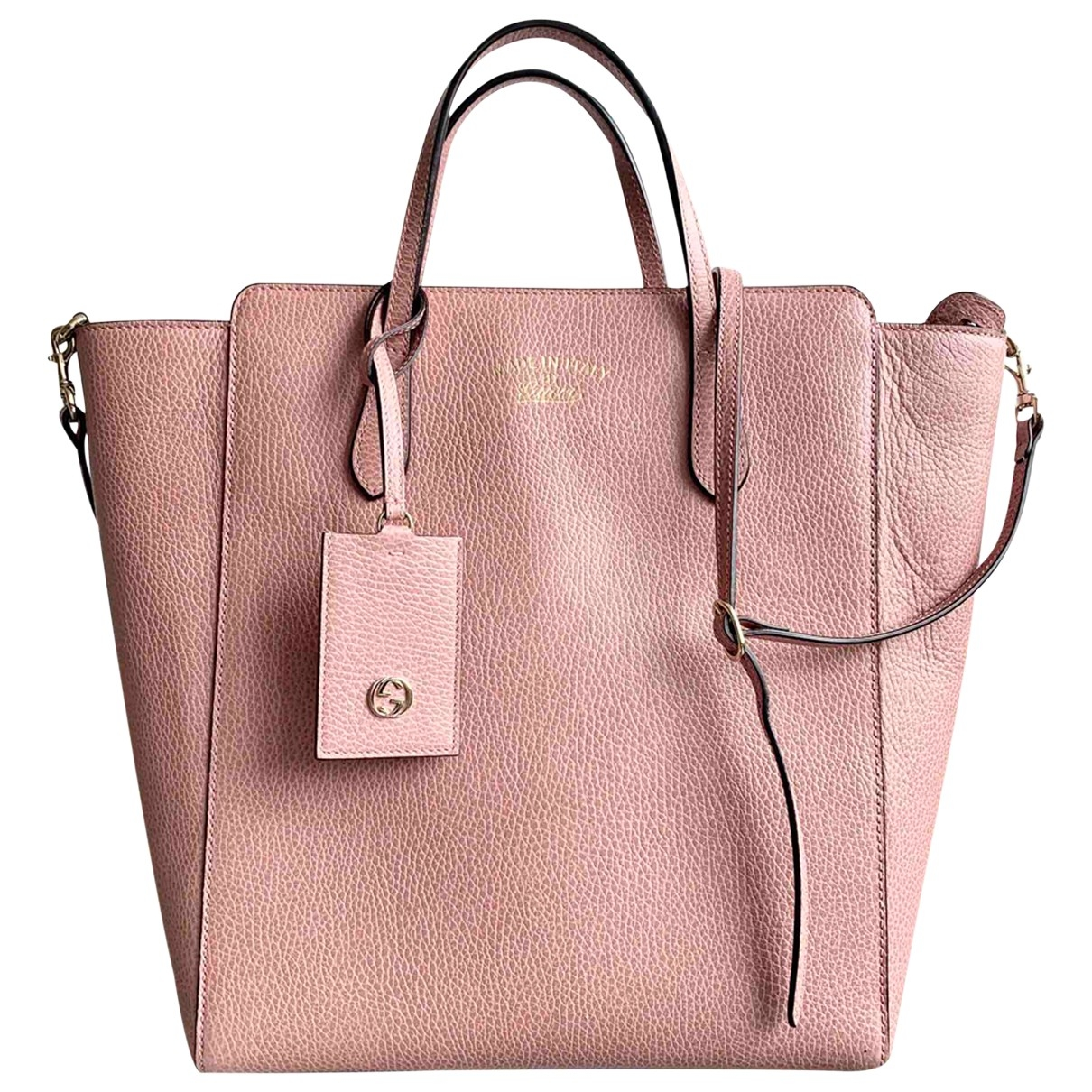 Gucci \N Pink Leather handbag for Women \N