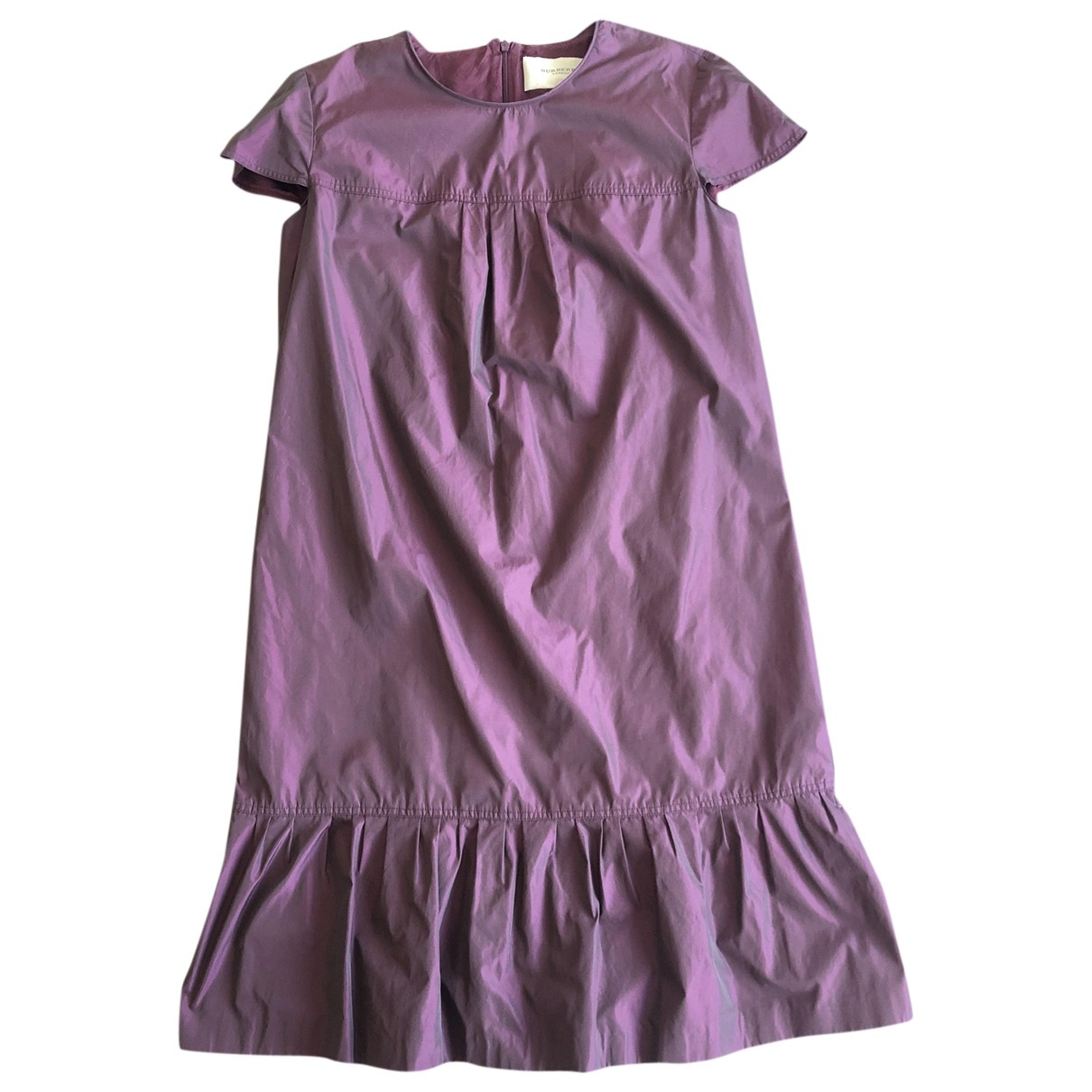 Burberry \N Burgundy dress for Women 42 IT