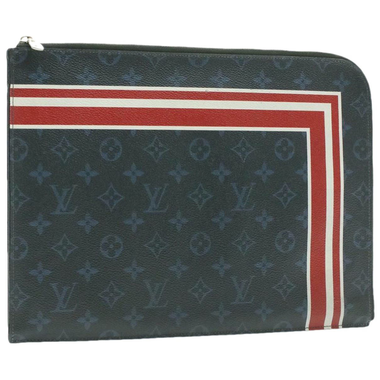 Louis Vuitton N Blue Cloth Clutch bag for Women N