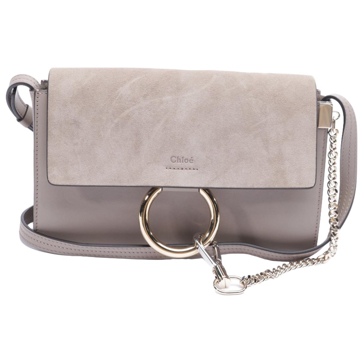 Chloé Faye Brown Leather handbag for Women \N