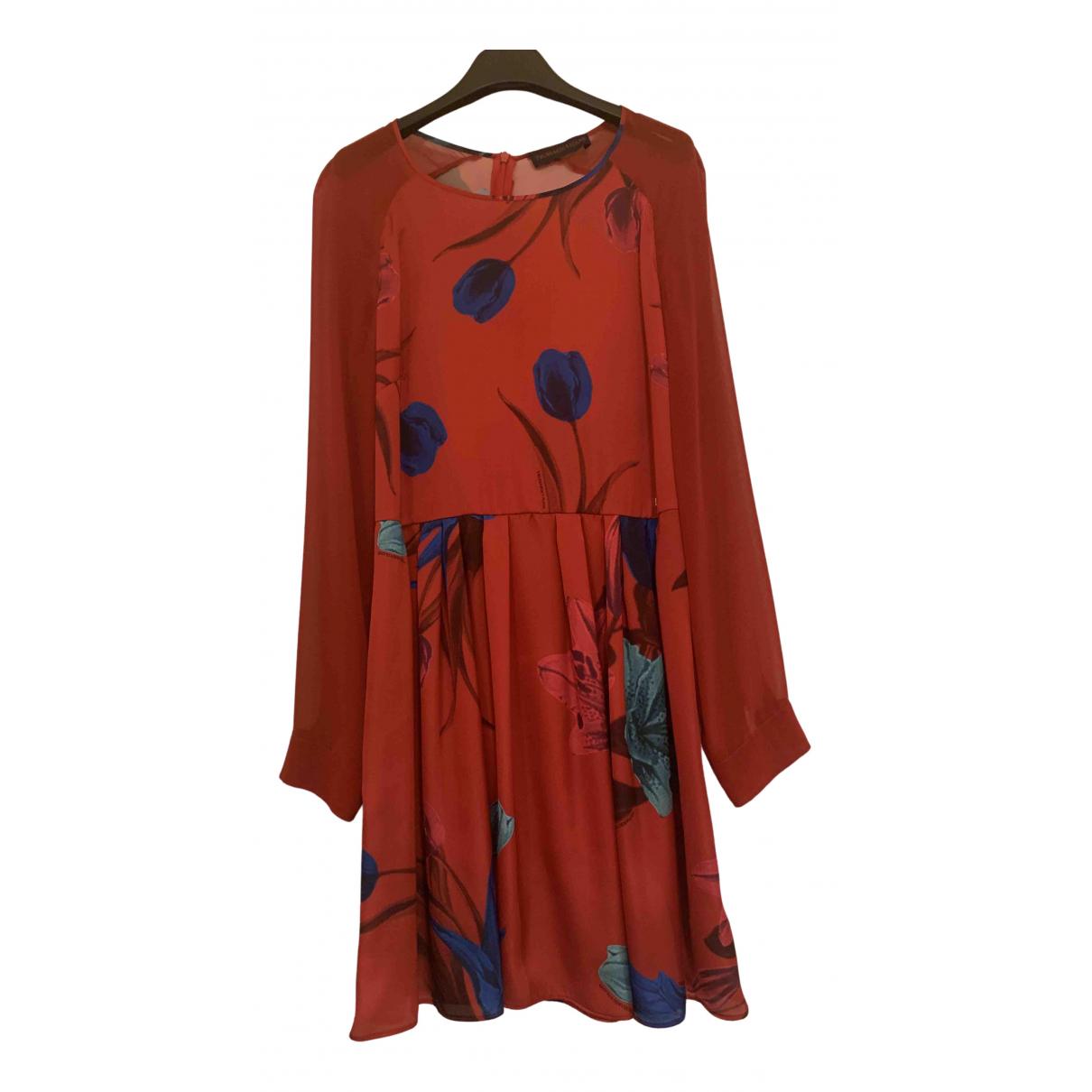 Trussardi Jeans \N Kleid in  Rot Polyester