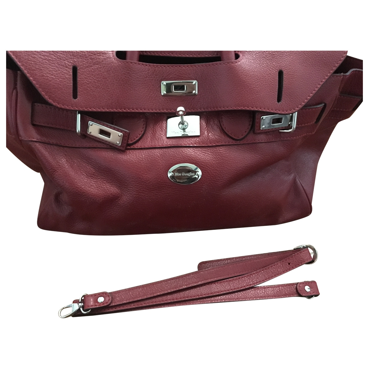 Mac Douglas \N Red Leather handbag for Women \N