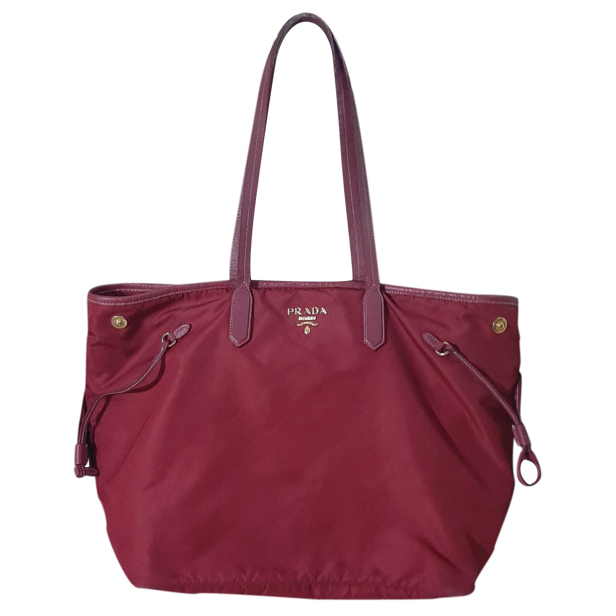 Prada Tessuto city Pink Cloth handbag for Women N