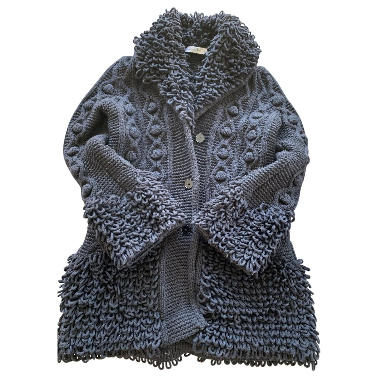 Dior \N Black Wool Knitwear for Women 36 FR