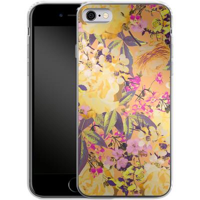 Apple iPhone 6s Silikon Handyhuelle - Symmetric Spring von Zala Farah