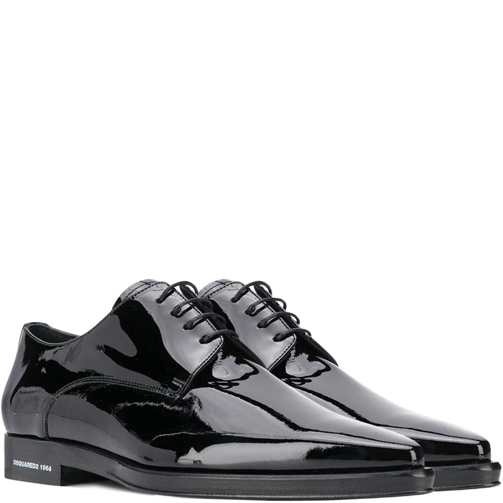 DSquared2 Patent Leather Loafers Colour: BLACK, Size: 9