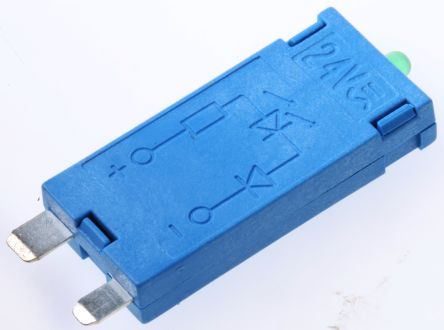Finder , 24V ac/dc Interface Relay Module, Plug In