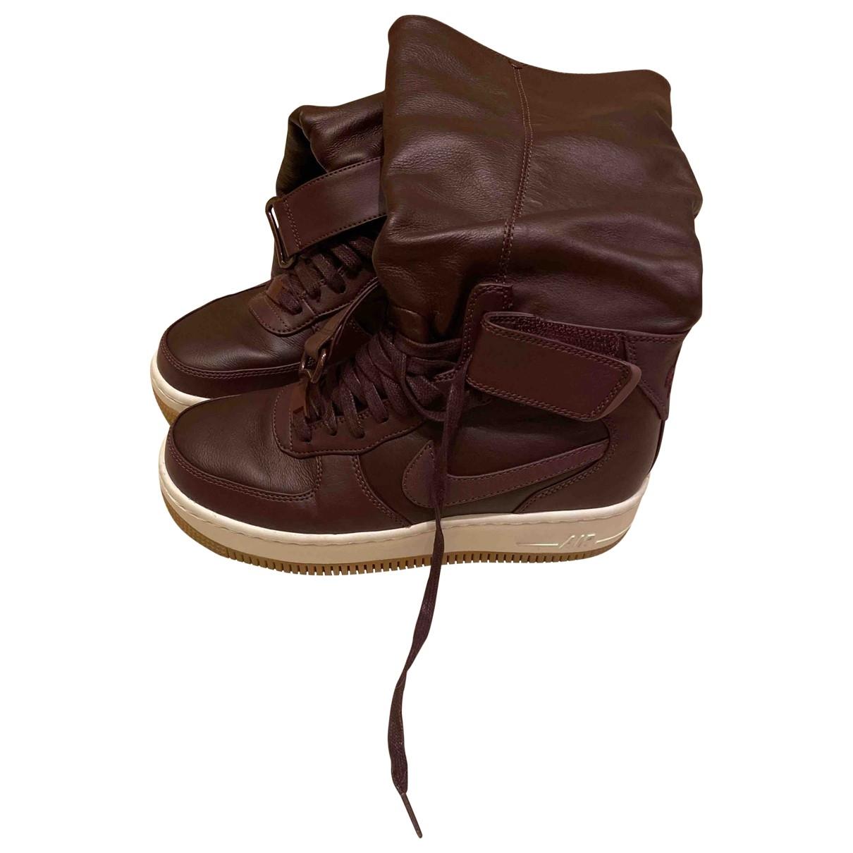 Botas Air Max  de Cuero Nike
