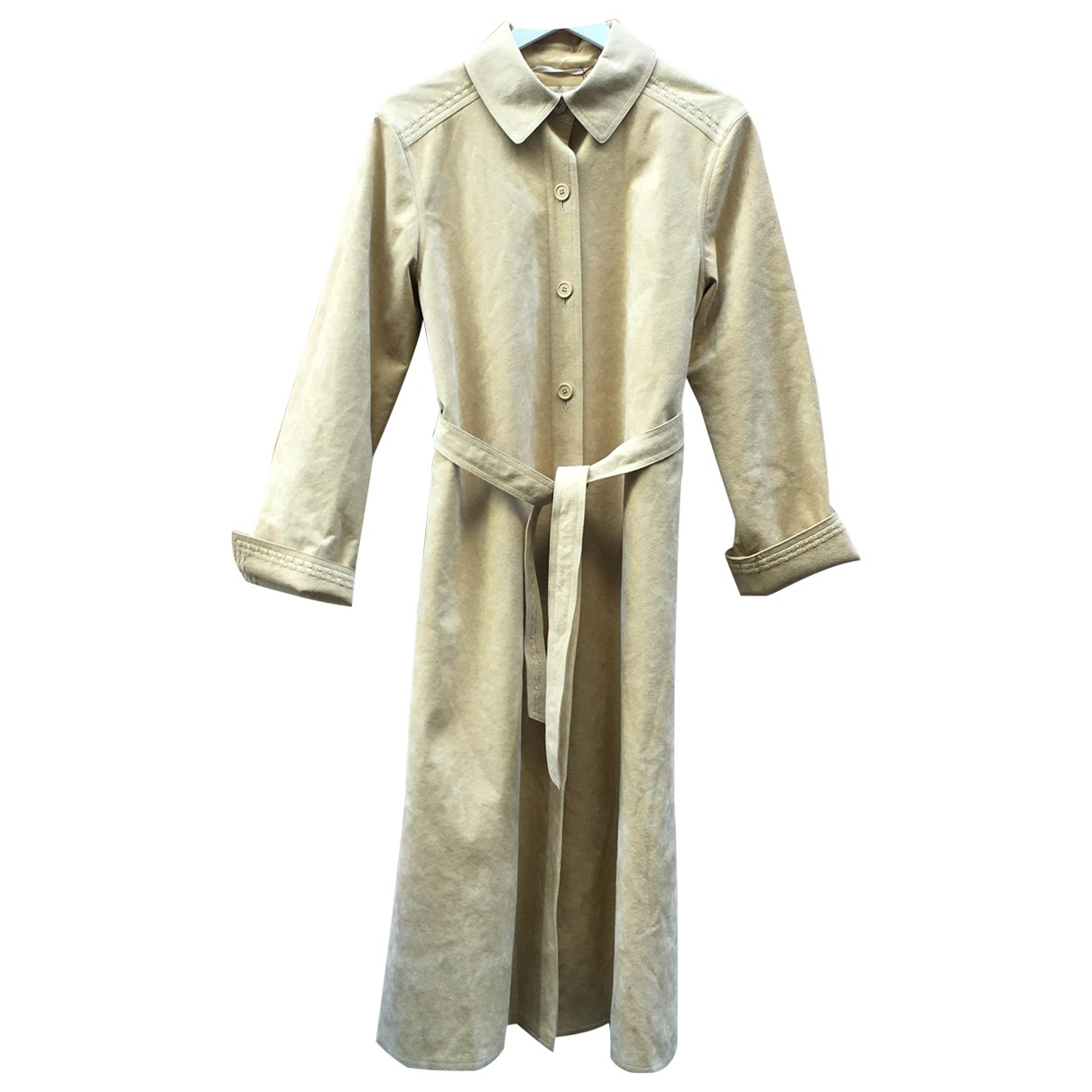 Non Signé / Unsigned N Beige jacket for Women One Size International