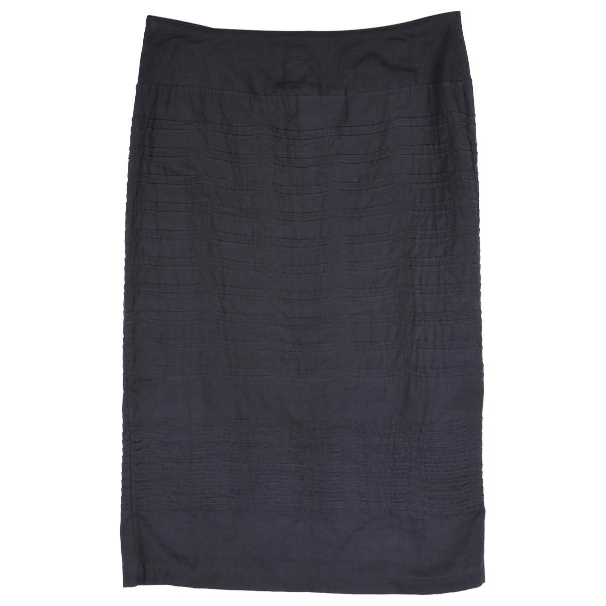 Issey Miyake - Jupe   pour femme en coton - noir