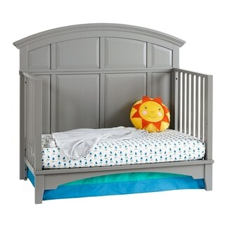 Brooklyn 4-in-1 Convertible Crib (Adjustable Mattress Height - Assembly Required)