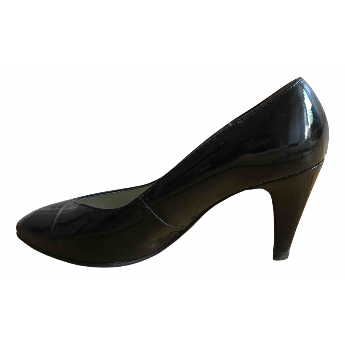 Bally \N Black Patent leather Heels for Women 5.5 UK