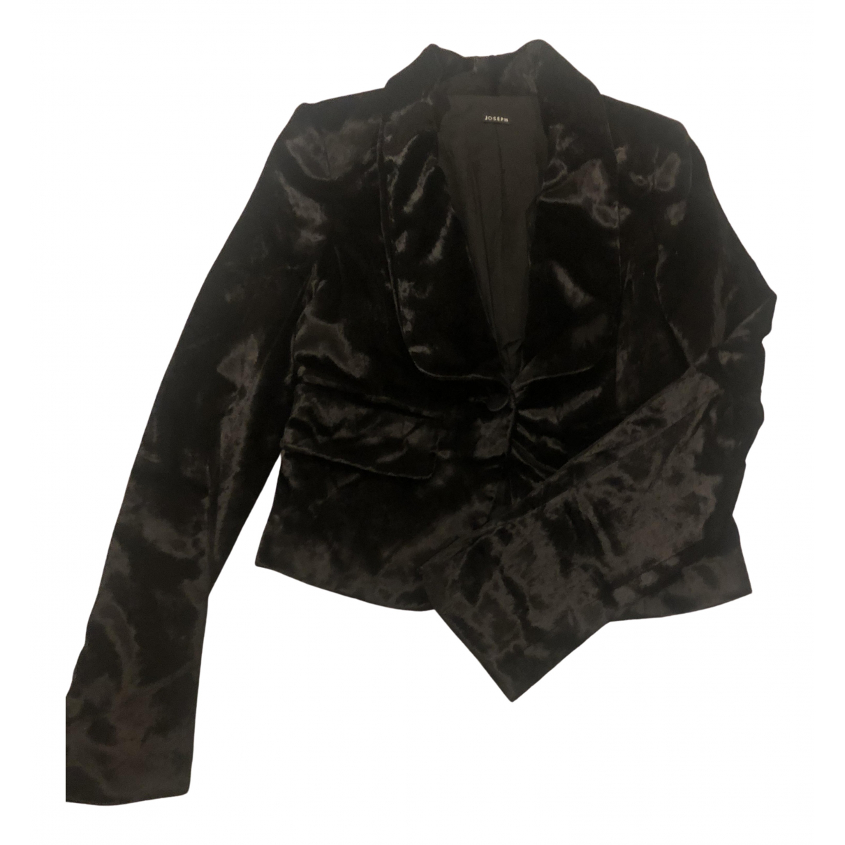 Joseph N Black Silk jacket for Women 36 FR