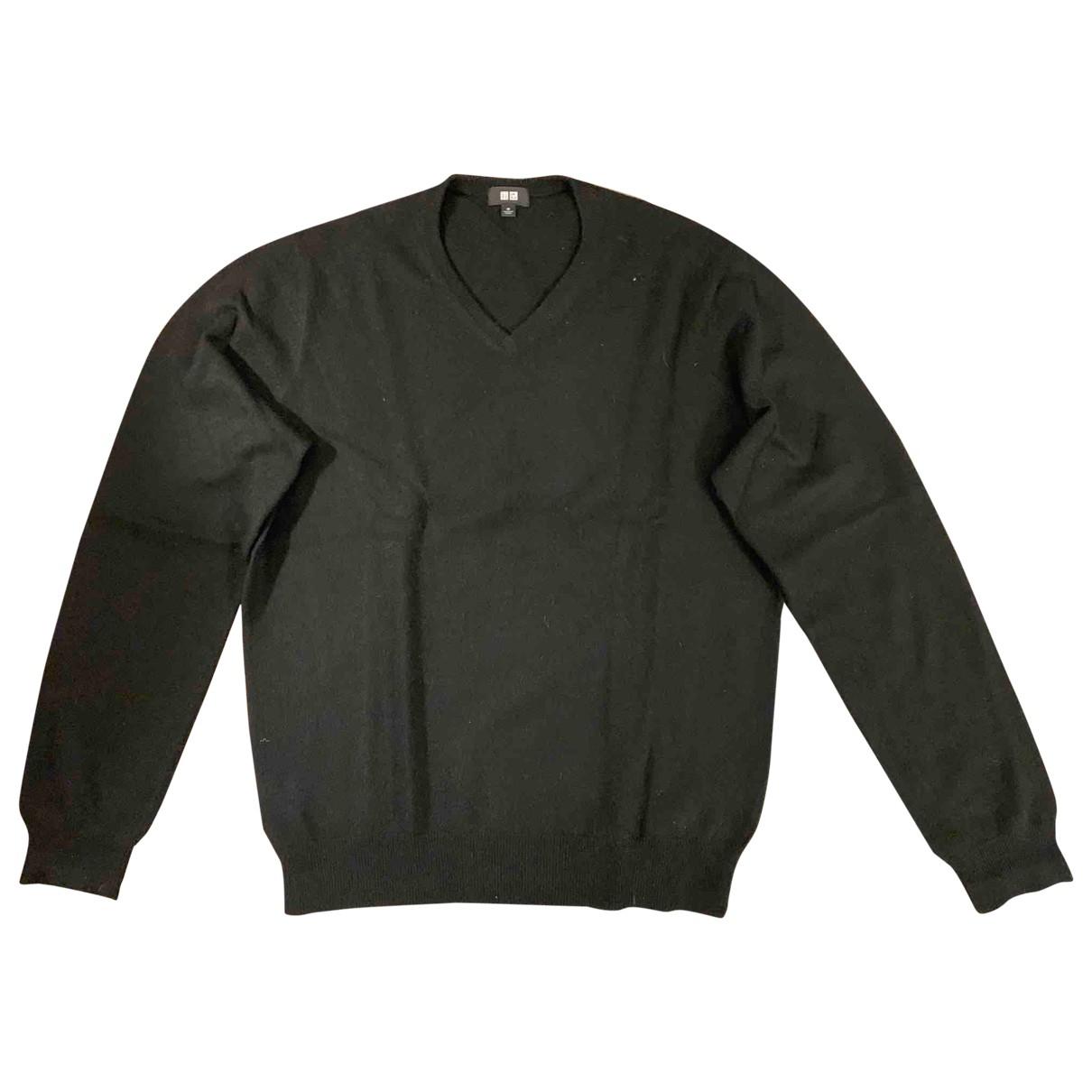 Uniqlo \N Black Cashmere Knitwear & Sweatshirts for Men M International