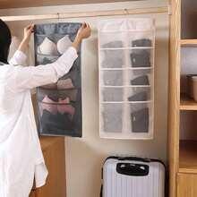 1pc Wardrobe Hanging Storage Bag