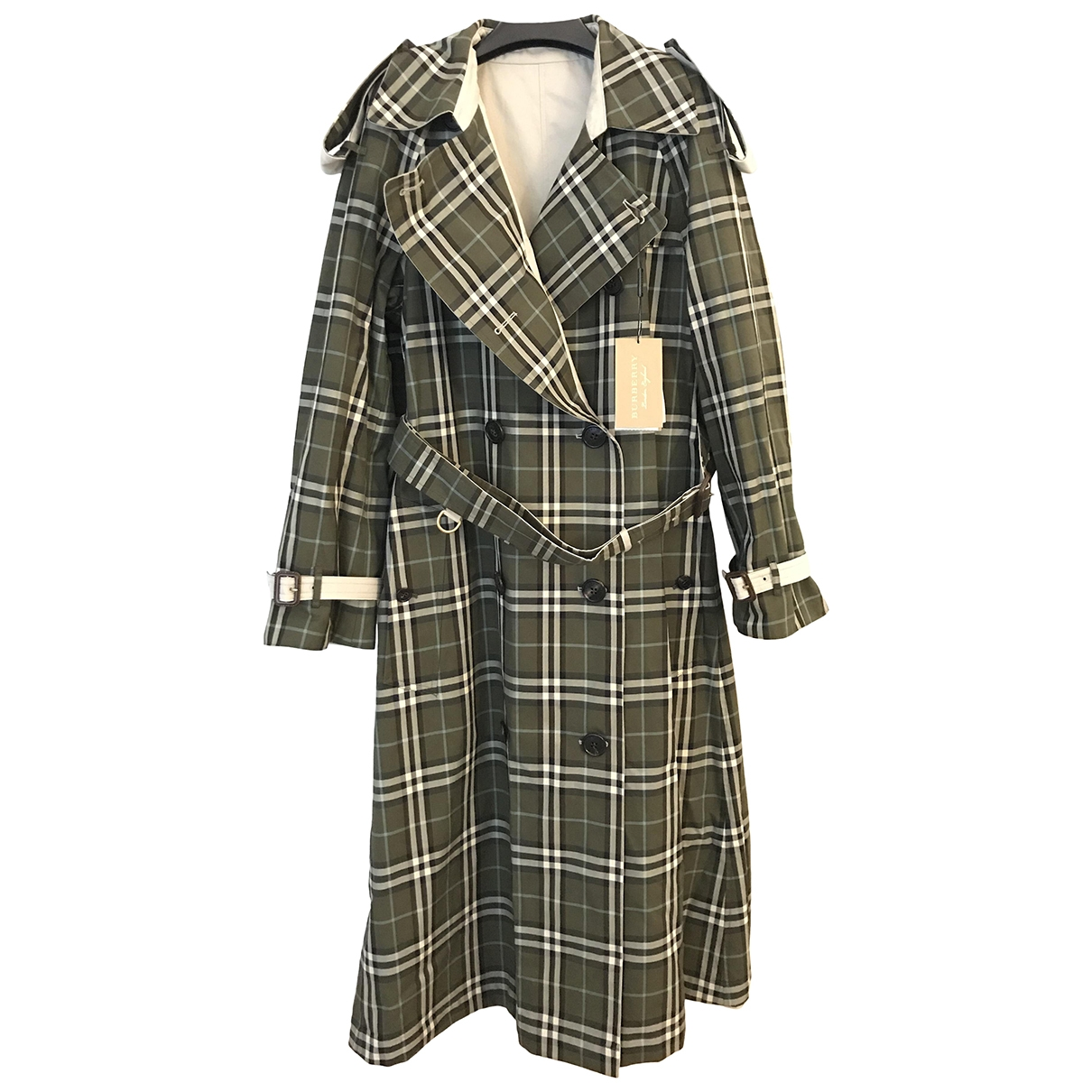 Burberry \N Multicolour Cotton Trench coat for Women 8 UK