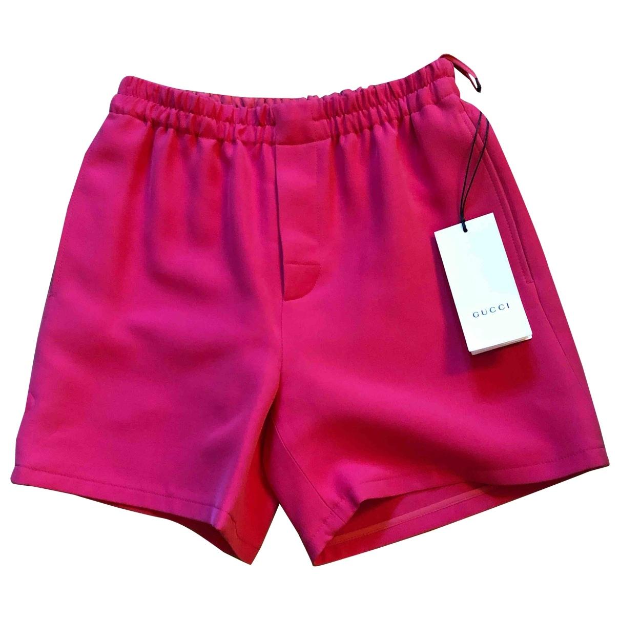 Gucci - Short   pour femme en laine - rose