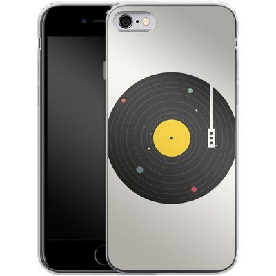 Apple iPhone 6 Silikon Handyhuelle - Music Everywhere von Florent Bodart