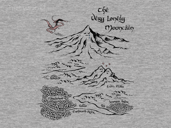 The Very Lonely Mountain T Shirt