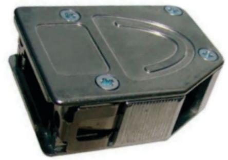 Provertha , 103 ABS D-sub Connector Backshell, 15 Way, Black