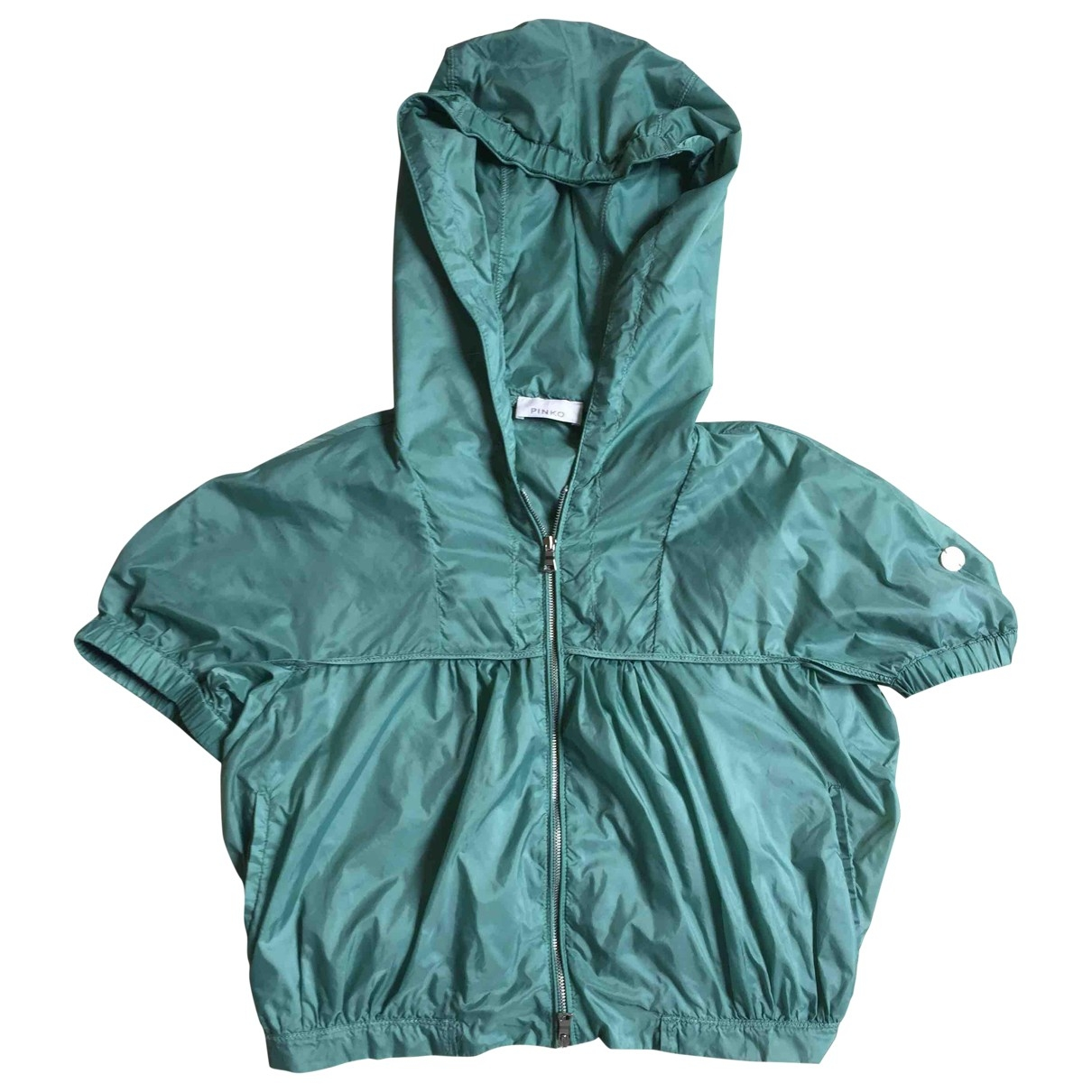 Pinko \N Turquoise jacket for Women 40 IT