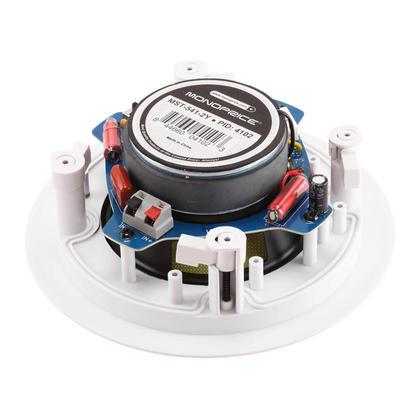 Caliber In-Ceiling Speakers, 5.25in Fiber 2-Way (pair) - Monoprice®